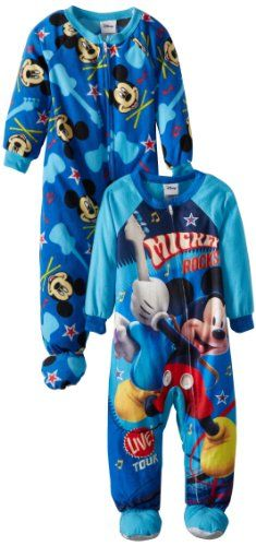 acc4dd480bfc Mickey Mouse Boys 2-7 Twofor Blanket Sleeper - List price: $32.00 Price:  $13.84 Saving: $18.16 (57%)