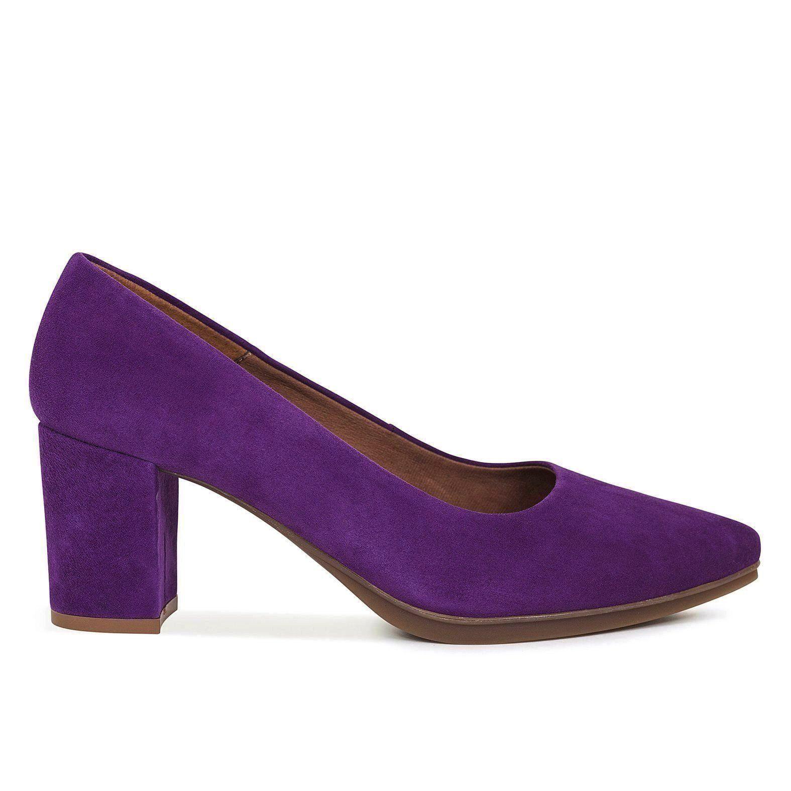 d57852cf Zapatos mujer tacón bajo MORADO OSCURO Urban S - Zapatos online miMaO –  miMaO ShopOnline