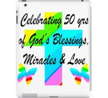 iPad Case/Skin http://www.redbubble.com/people/jlporiginals/collections/370882-50th-birthday #50thbirthday #50yearsold #Happy50thbirthday #50thbirthdaygift #50andfabulous #turning50