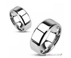 breiter Edelstahl Ring / Partner Ring Classic  im Etui...