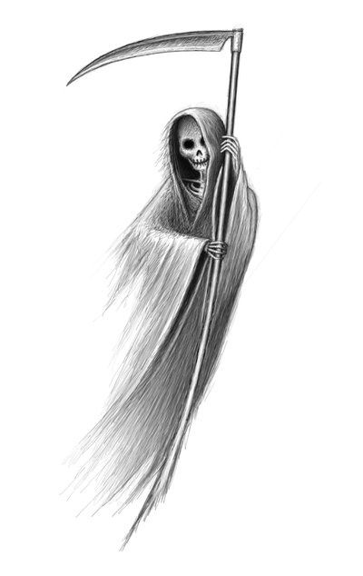 Grim Reaper With Images Grim Reaper Tattoo Grim Reaper