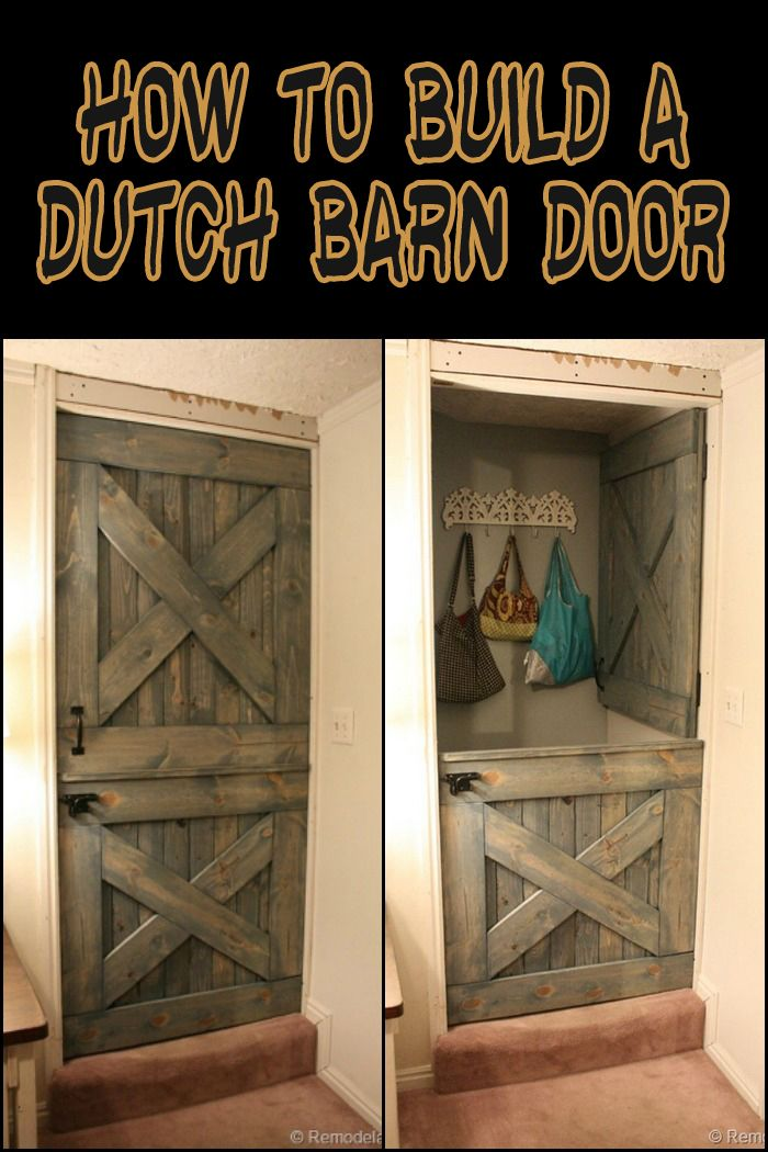 Build Your Own Dutch Barn Door With Images Diy Barn Door Diy