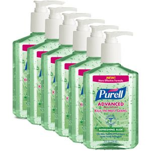 Personal Care Hand Sanitizer Aloe Lotion