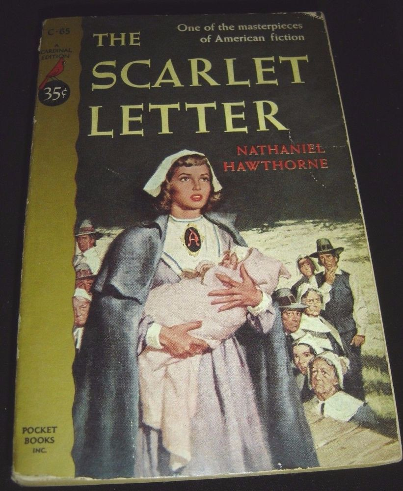 The Scarlet Letter By Nathaniel Hawthorne Cardinal Edition
