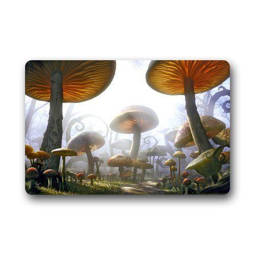 Custom Psychedelic Mushroom Door Mats Cover Non-Slip Machine Washable Outdoor Indoor Bathroom Kitchen Decor Rug Mat Phavorest http://www.amazon.com/dp/B00S128920/ref=cm_sw_r_pi_dp_57p4ub1M8ZPXX