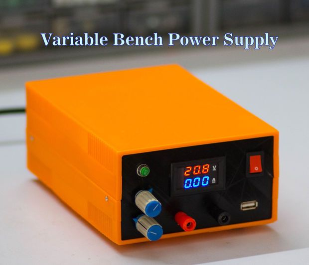 How to Make a Bench Power Supply | Bench, Arduino and Electronics ...