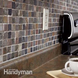 How To Tile A Diy Backsplash Kitchen Mosaic Diy Home