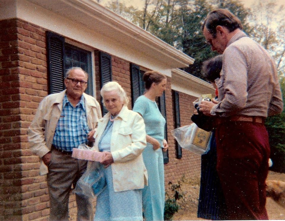 My Grandparents at Kittys , Nelson and Anna Fallin 1982