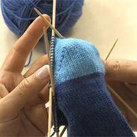 Photo of Video: calcetines de punto, Instrucciones para tejer calcetines paso a paso Detrás de Maiami B …