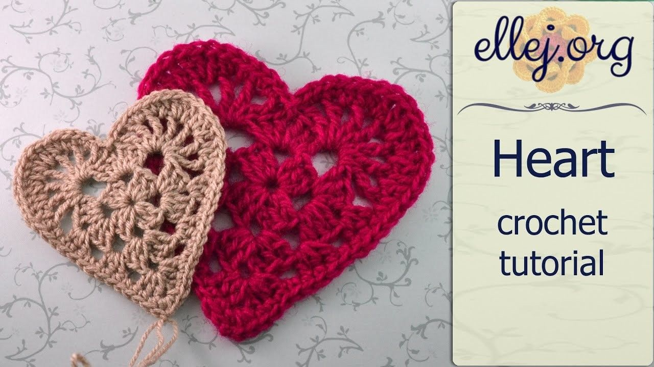 How To Crochet Granny Red Heart Motif ○ Free Step by Step Crochet ...