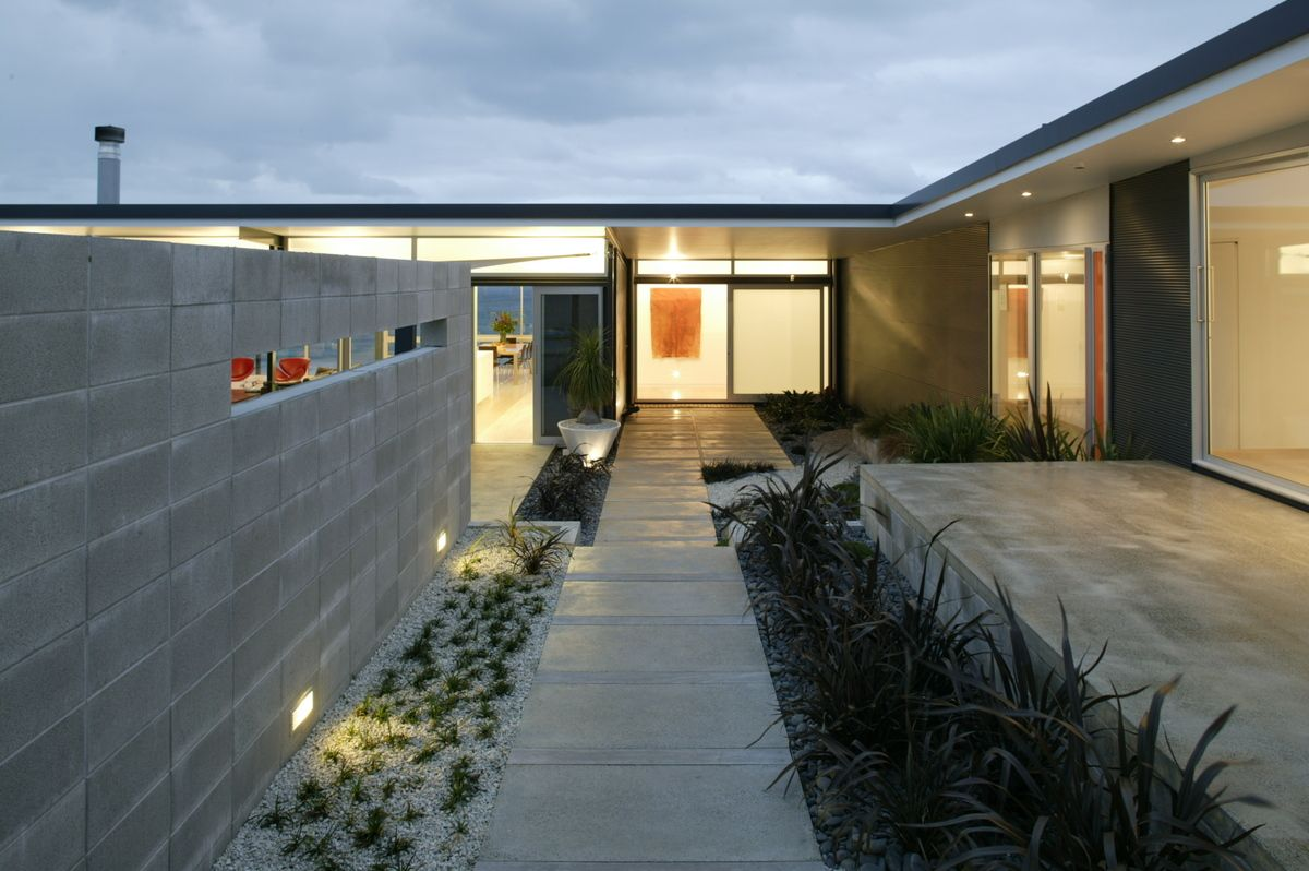 Okitu House Bossley Architects Archinect Outdoors Pinterest - Modern-okitu-house-by-pete-bossley