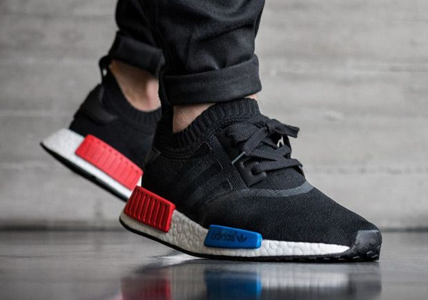 d8275be70626 Image result for adidas nmd xr1 black blue red