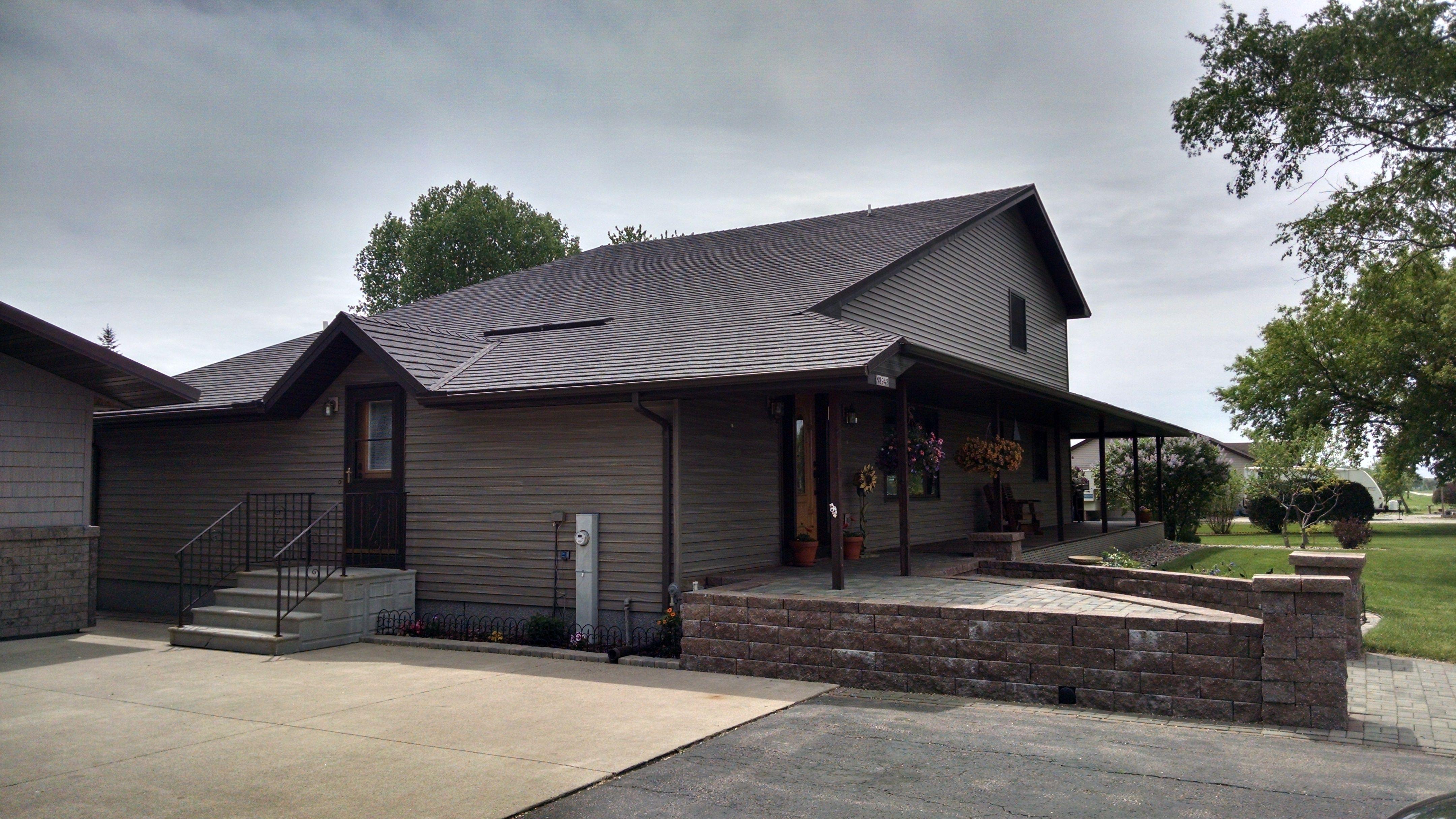 Gerard Stone Coated Metal Roof Made To Look Like Shingles But Lasts A Lifetime Metal Shingles Metal Shingle Roof Metal Roof