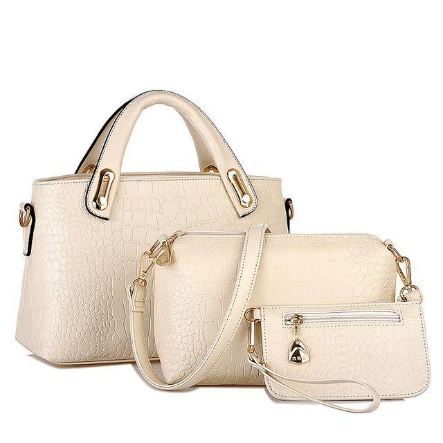 Taschen Handtaschen Frauen Handtasche Umhängetaschen Tote Geldbörse Leder Damen Messenger Hobo Bag Strand bolso mujer l20  Products