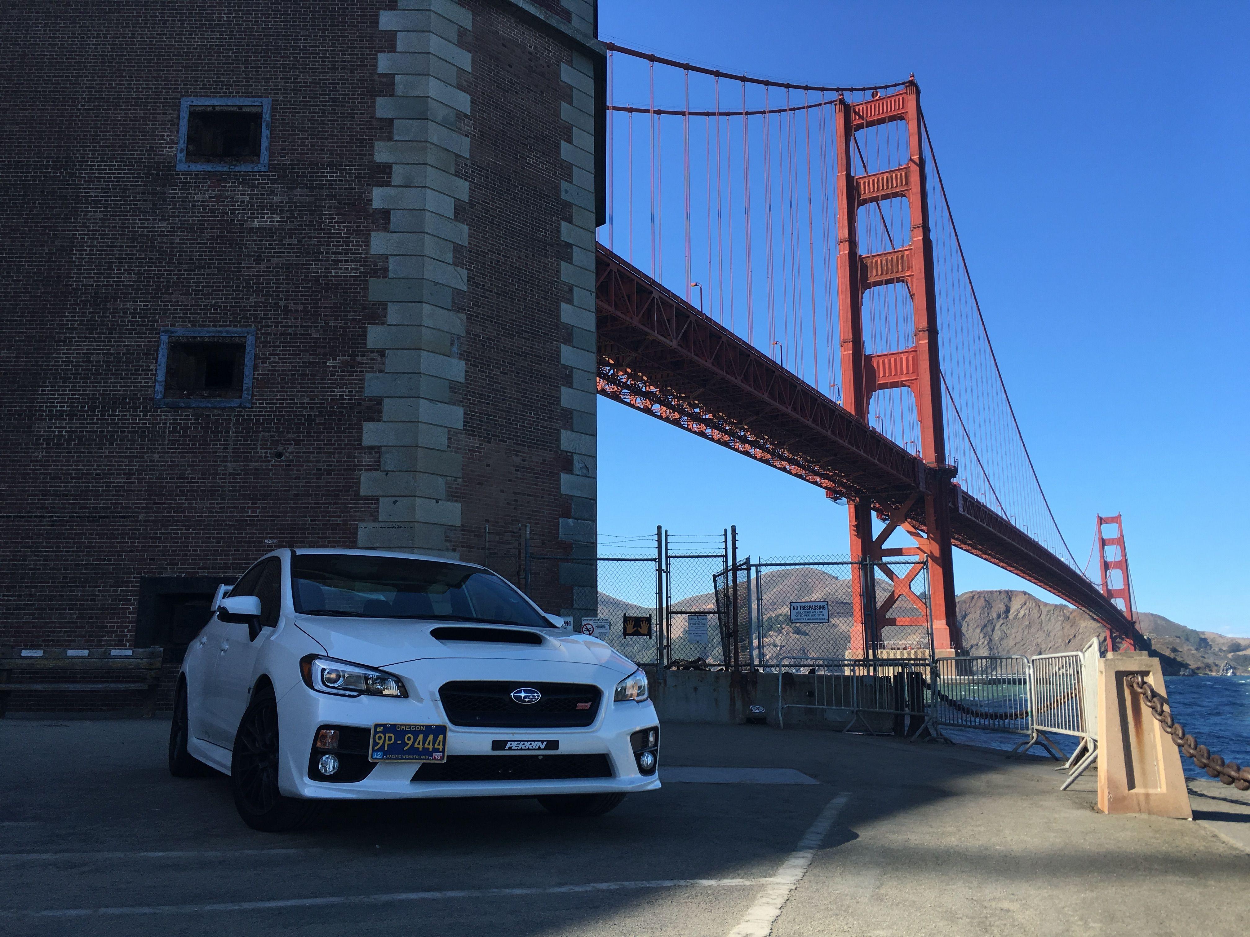 Subaru Sti Subaru Sti Subaru Golden Gate Bridge