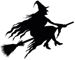Resultado De Imagen Para Witch Silhouette Witch Silhouette Vintage Witch Halloween Silhouettes