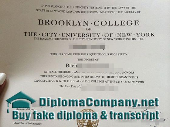 buy a Brooklyn College diploma, fake Brooklyn College degree ...
