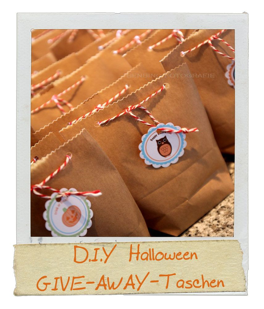 DIY Halloween Give-Aways