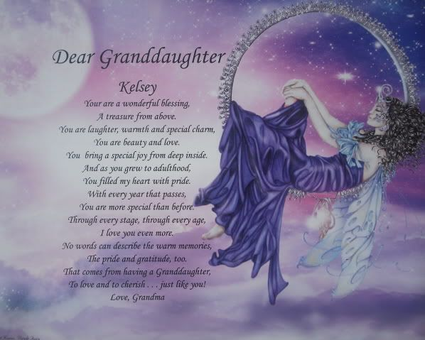 Grandfather Grandpa Personalized Poem Birthday Gift On