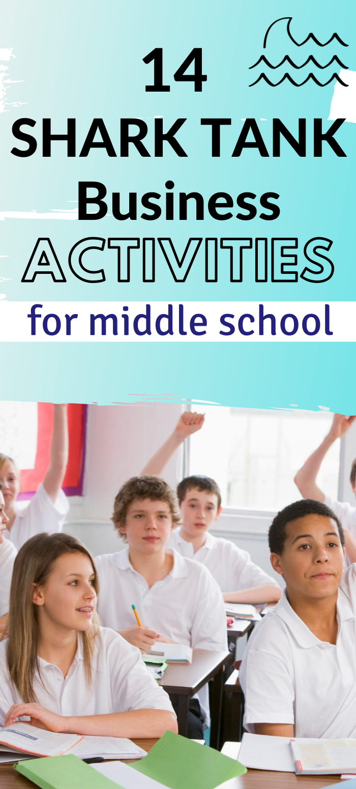 14 Shark Tank Lesson Plans For Middle School And High School Life Skills Kids High School Lesson Plans Teaching Kids Money [ 1550 x 700 Pixel ]