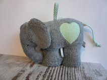 Kuschelelefant / Spieluhr