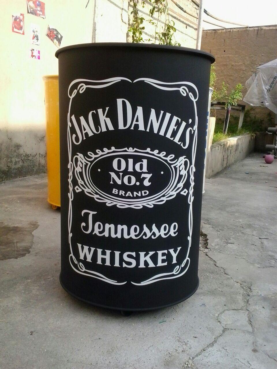 8df036dc6a Tambor personalizado Jack Daniels 995171821