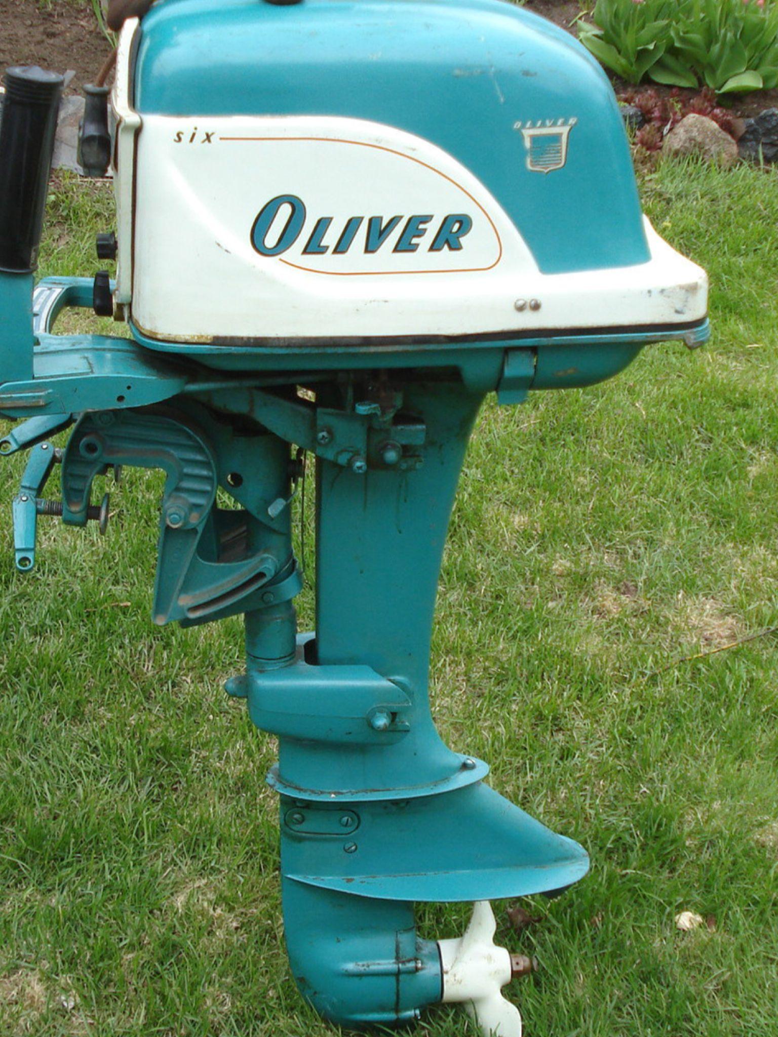 Oliver outboard motor Outboards Pinterest