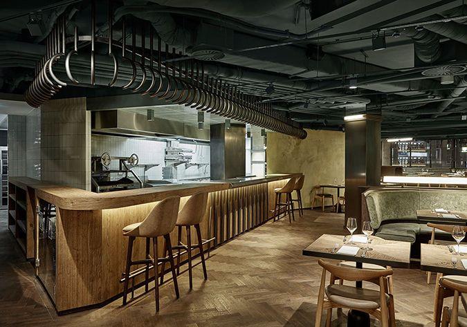 mid century modern restaurant wyers miss louisa caf in amsterdam design gallerist discover - Midcentury Restaurant Interior
