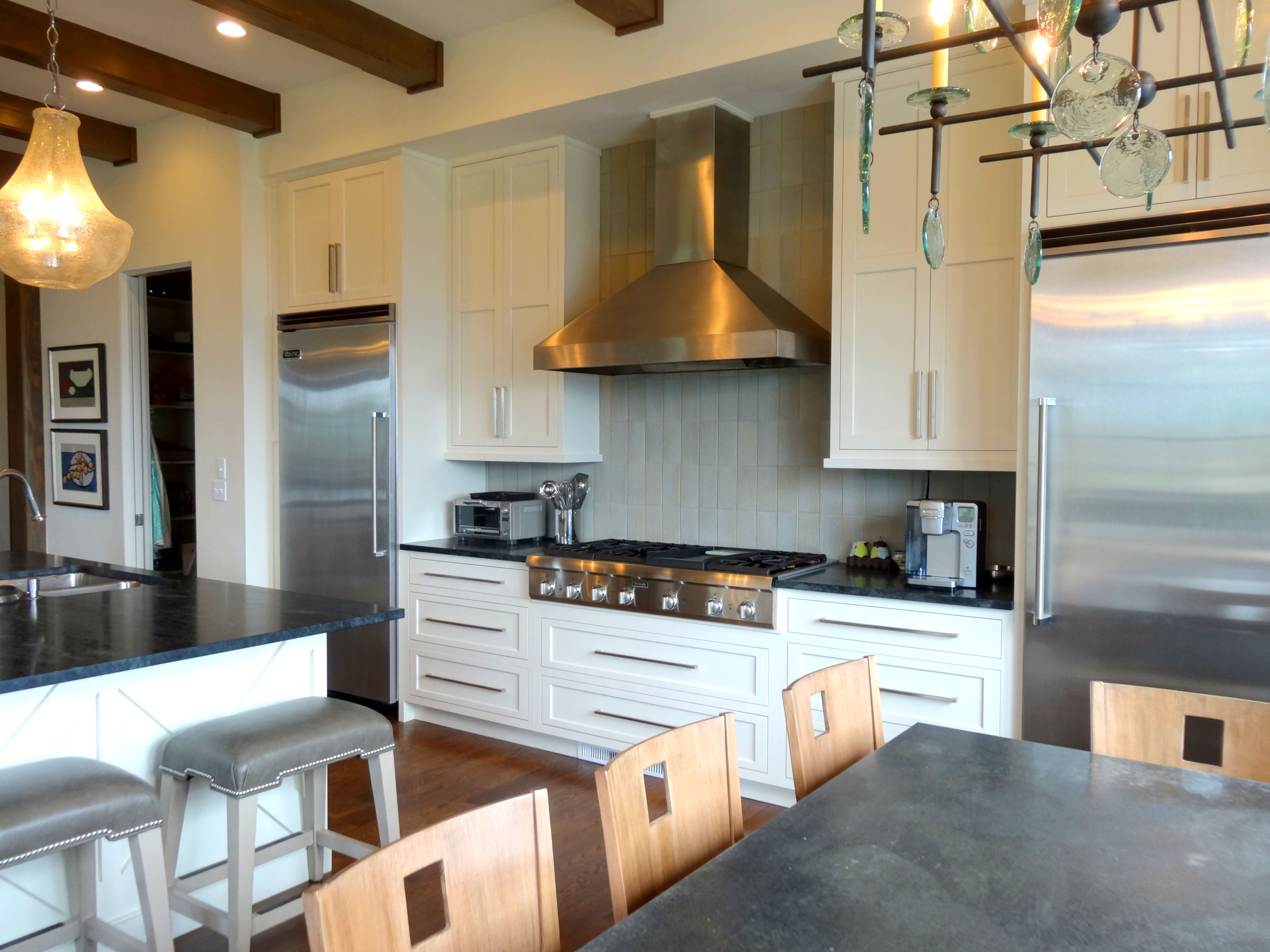 Contemporary Kitchen by High Country Cabinets of Banner ...