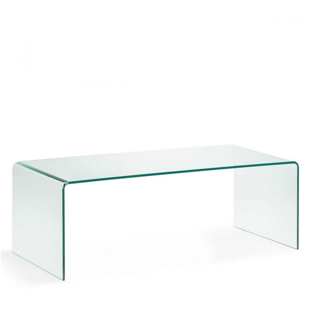 Burano Table Basse En Verre Trempe Transparent Table Basse Verre Table Basse Verre Trempe Table Basse Transparente