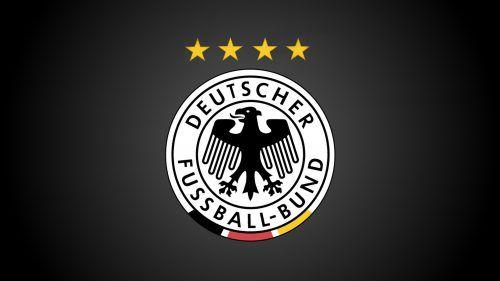 Germany Football Logo 4 Stars Wallpaper Deutscher Fussball