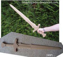 [WIP] Skyforge Sword from SKYRIM by Dj3r0m