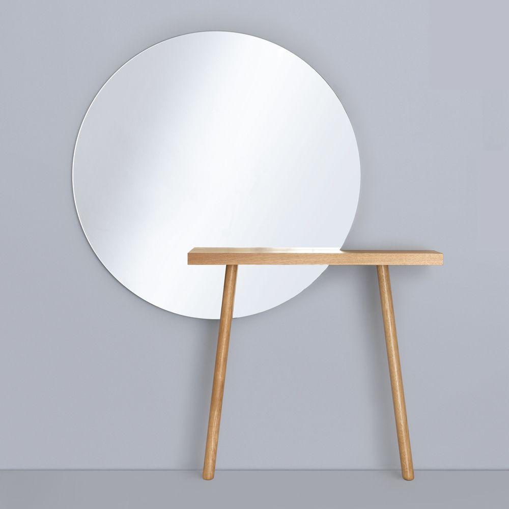 Suite Ny For The Carla And Carlo Entry Table With Mirror Designed By Florian Schmid Zeitraum More Wall Mounted Mirrors Narrow