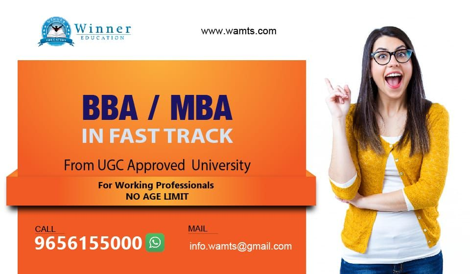 Looking For Bba Mba In Fast Track Mba Working Professionals