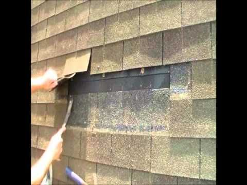 How To Remove And Replace Asphalt Shingles Roofing Repair Youtube Roof Repair Roof Architecture Roofing