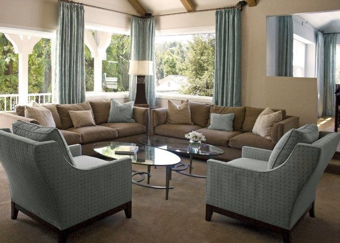 Formidable Brown And Blue Living Room Ideas About Interior Home Remodeling With