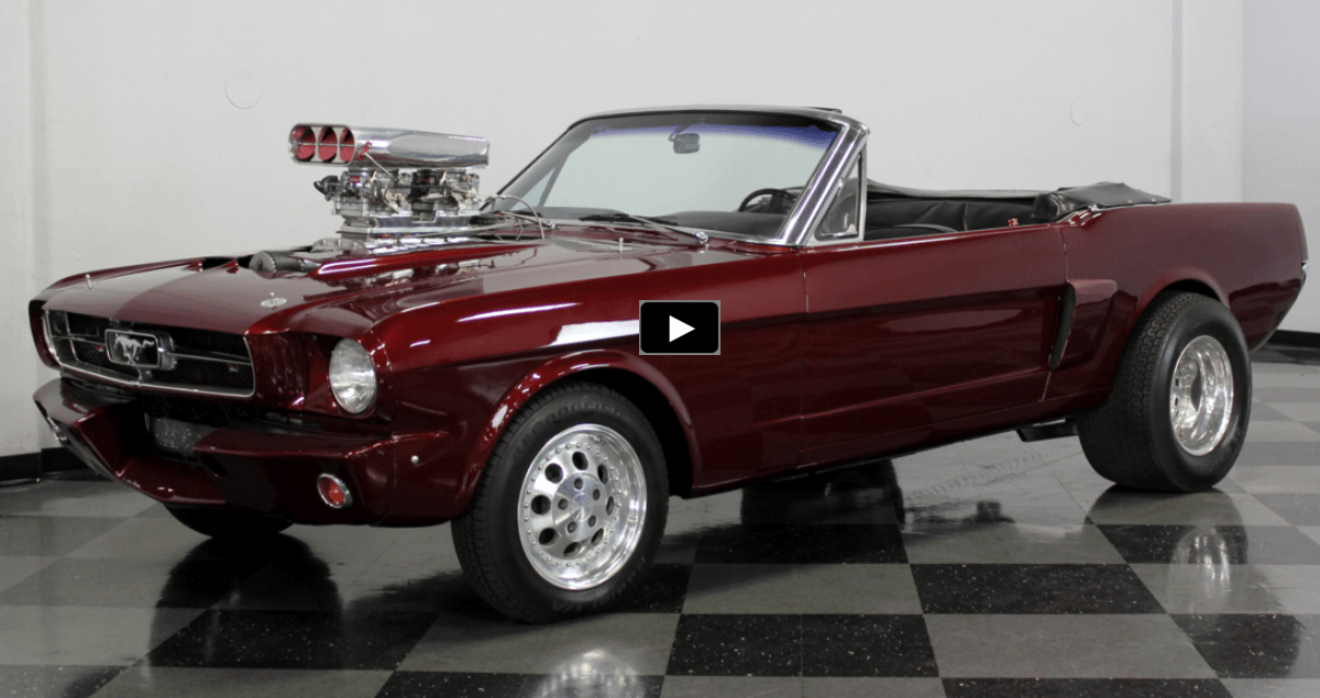 SUPERCHARGED 1965 FORD MUSTANG 302 CONVERTIBLE | Ford