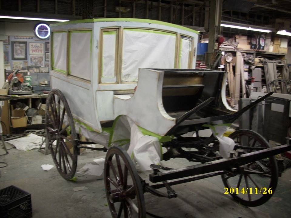 The 1880 S Martha Mary Opera Bus We Are Currently Restoring For