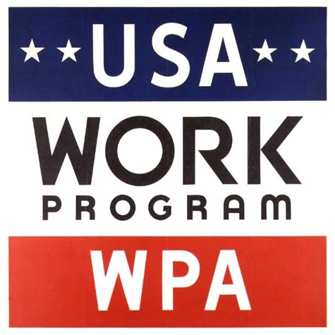 ••WPA: Works Progress Administration•• renamed in 1935 as the Work Projects Administration = largest and most ambitious American New Deal agency, employing millions of unemployed people (mostly unskilled men) to carry out public works projects
