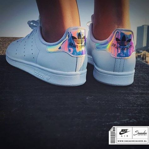 adidas stan smith holographique femme