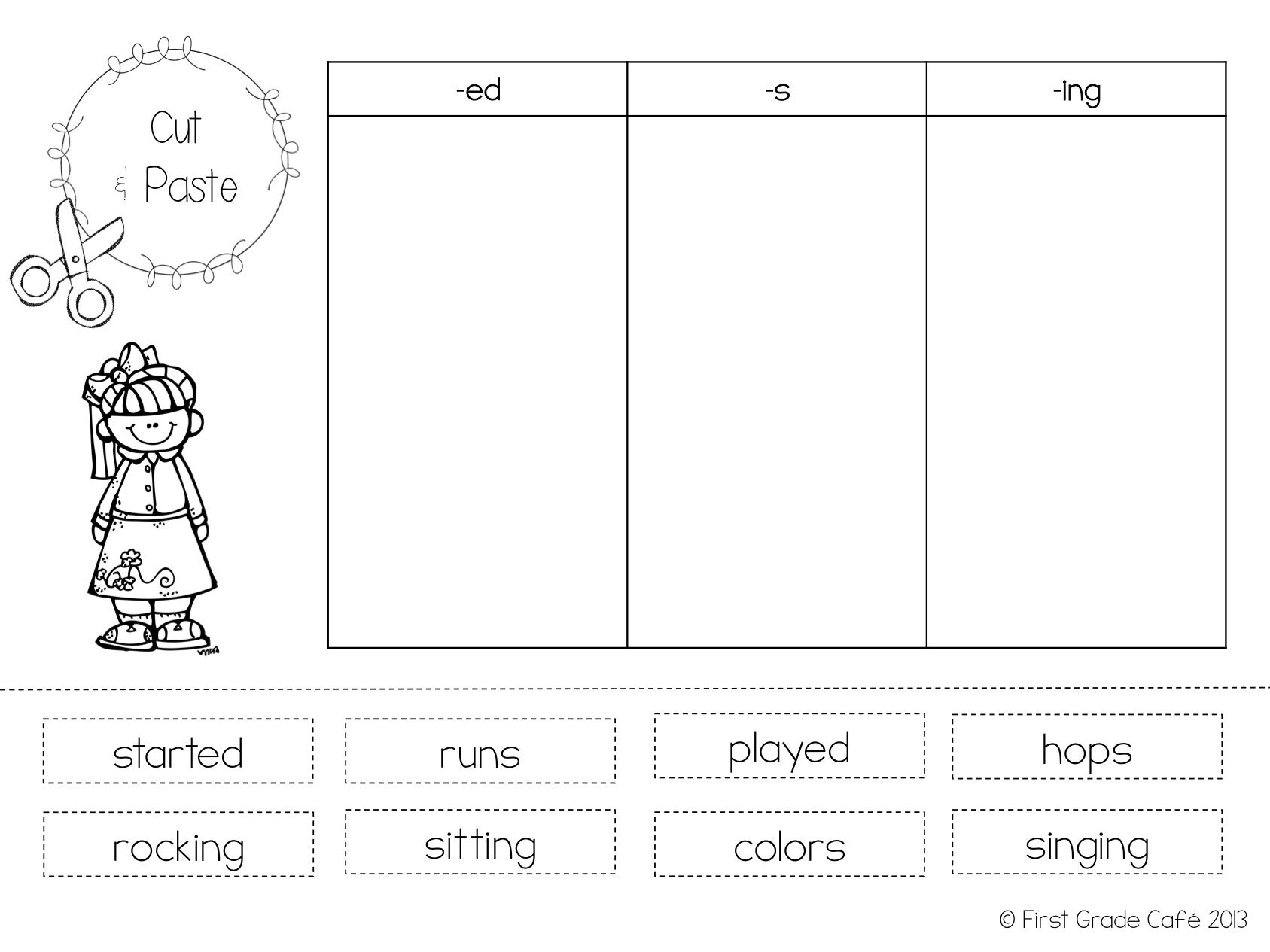 Inflectional Endings – Inflectional Endings Worksheet