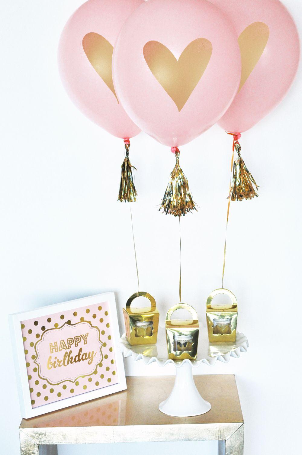 Happy Birthday Party Balloons Set Of 3