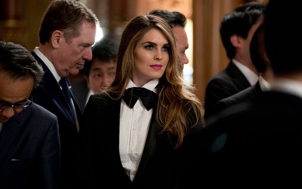 FOX NEWS: White House's Hope Hicks wore a tuxedo to Japan state dinner