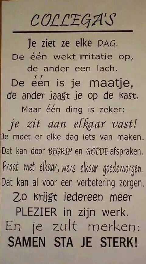 Populair Collega`s | Learn Dutch!! Ja, ik wil! | Quotes, Beautiful Words, Words @PF34