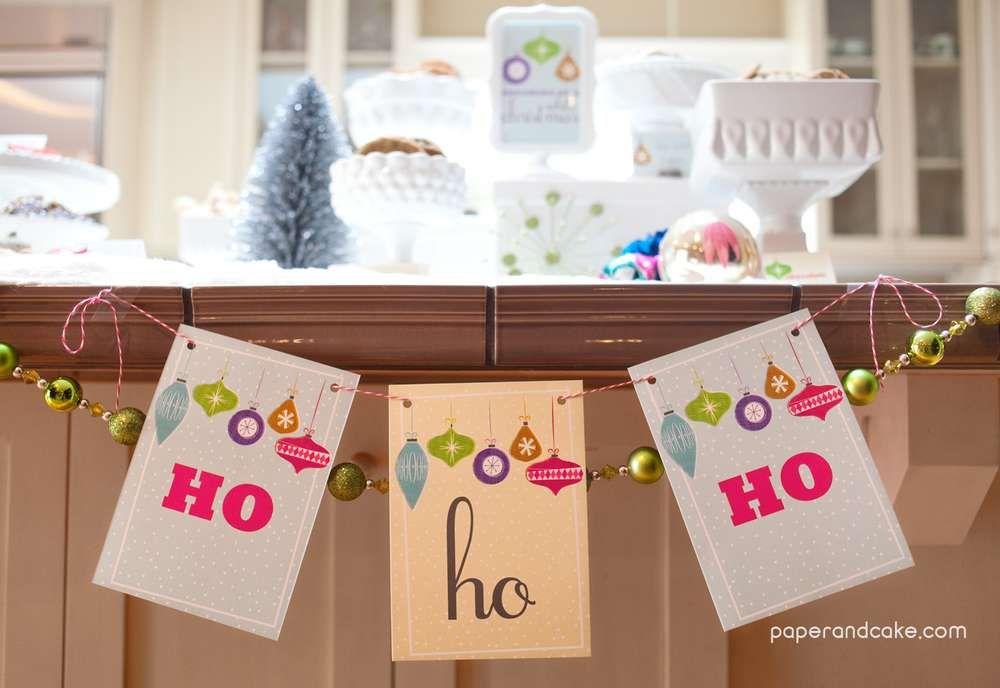 Retro Christmas Party Ideas Part - 31: Retro Christmas Ornaments Christmas/Holiday Party Ideas