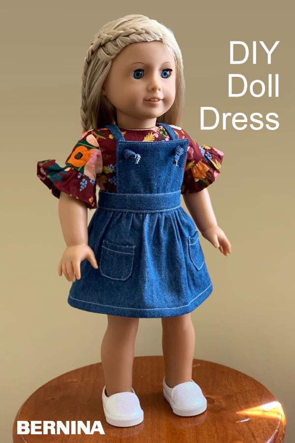 DIY 18 Doll Dress