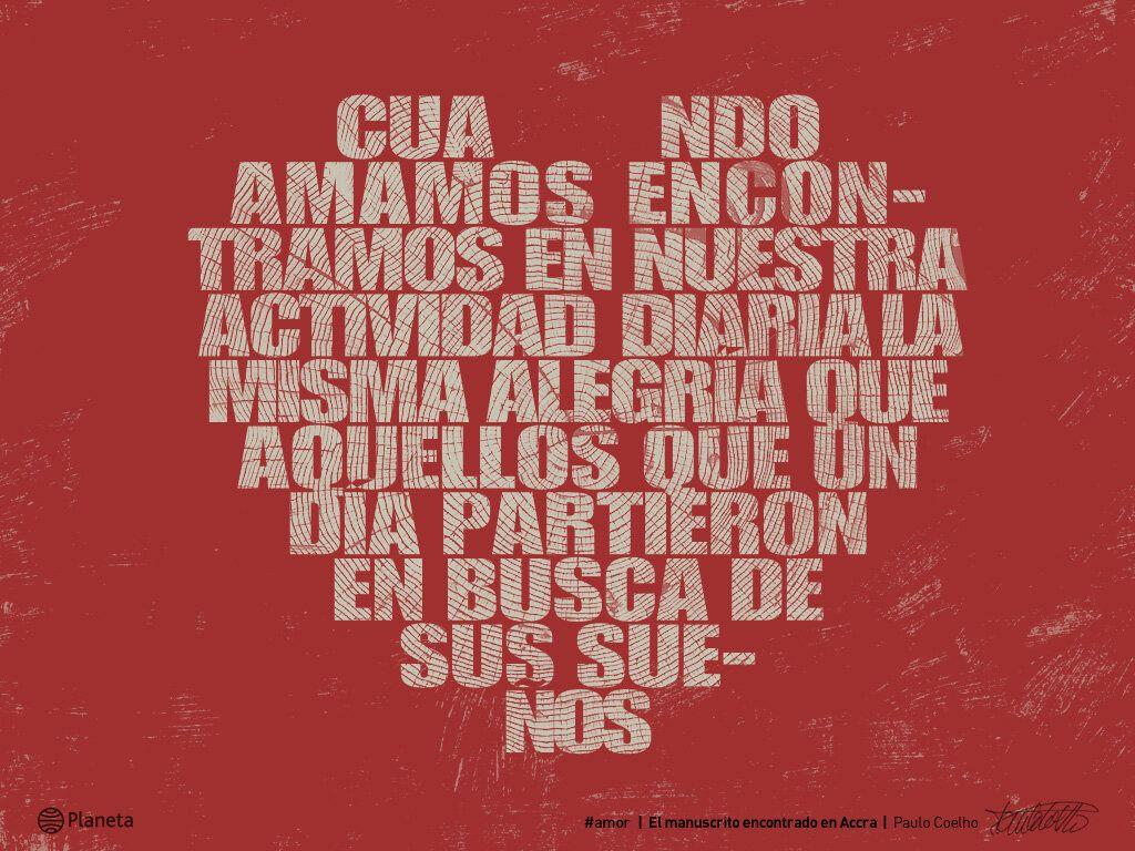 Paulo Coelho #Amor