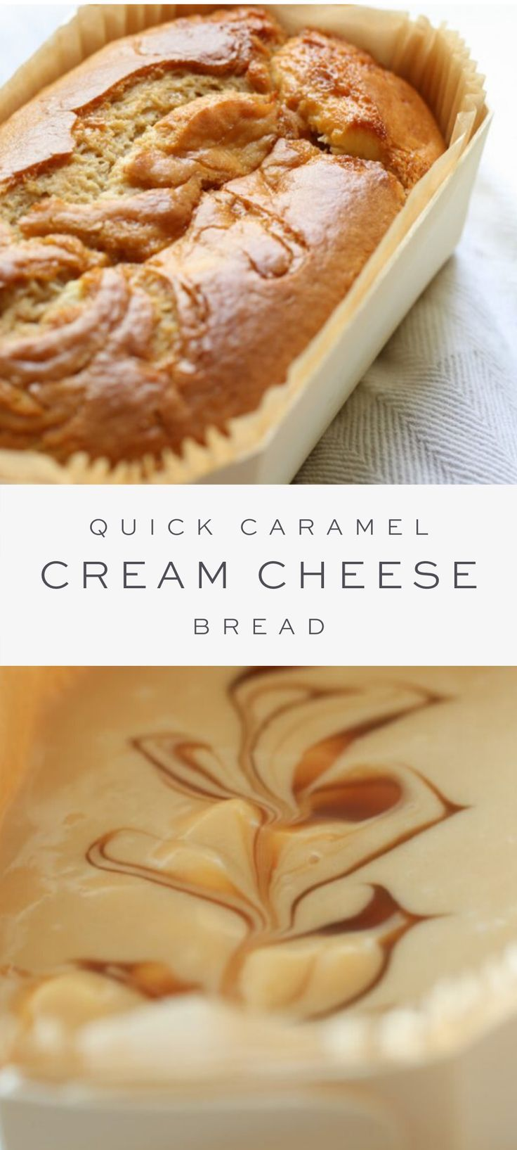 Quick Caramel Cream Cheese Bread Recipe {Cheesecake Bread} -   17 desserts Caramel cream cheeses ideas