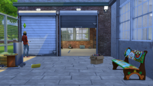 Open Garage Doors I Arch I By Gatochwegchristel Quiddity Jones Via Tumblr I Sims 4 I Ts4 I Maxis Match I Mm I C Garage Door Styles Garage Doors Garage Design
