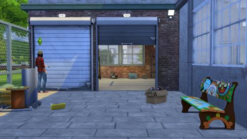 Open Garage Doors I Arch I By Gatochwegchristel Quiddity Jones